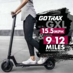A person scooting on the with the Best Commuting Electric Scooter