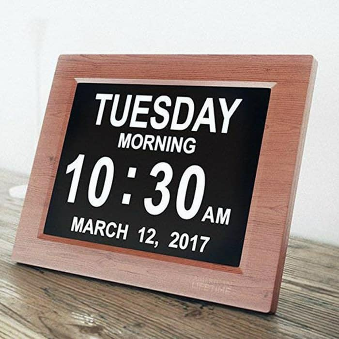 First close looking view of the Best Digital Alarm Clock