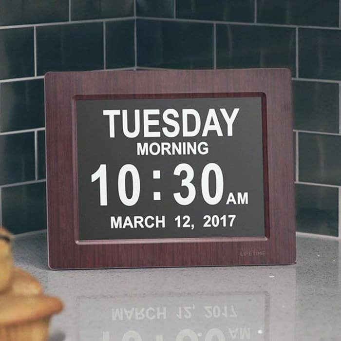 Third close looking view of the Best Digital Alarm Clock