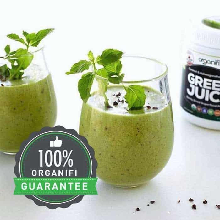 Third close looking view of the Best Greens Supplement