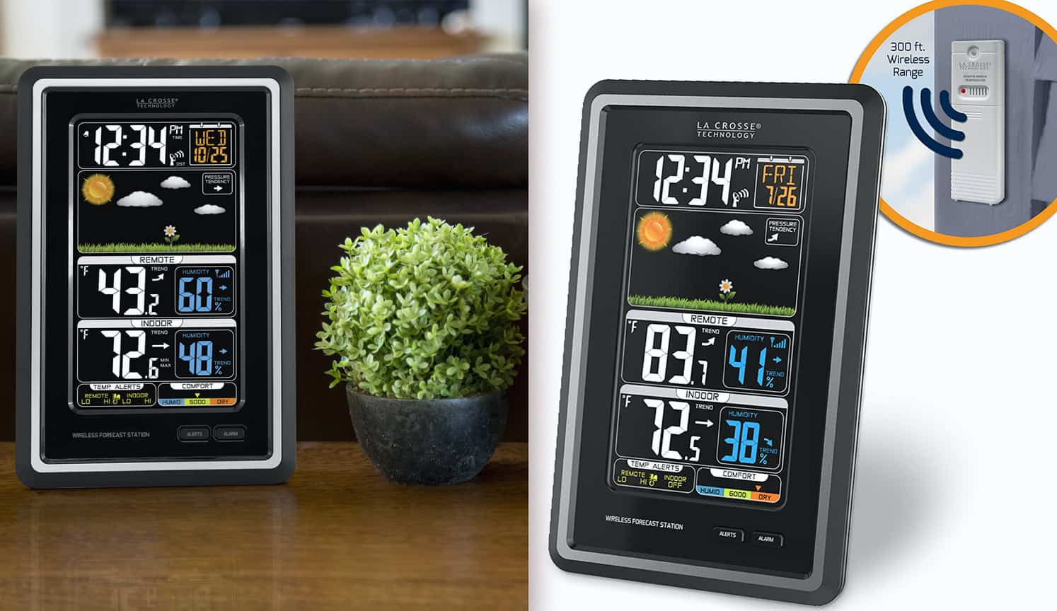 Best Home Weather Station as the first related product of the Best Digital Alarm Clock