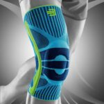 Athlete wearing a Best Knee Brace for the best support of knee
