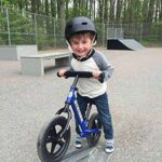 Kid enjoying yourself with a Mini Sports Bike
