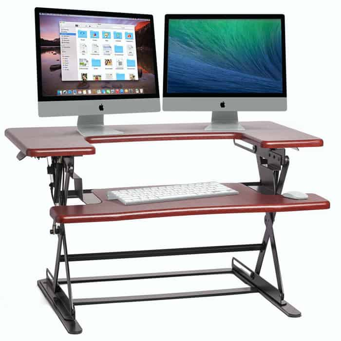 First close looking view of Adjustable Computer Desk
