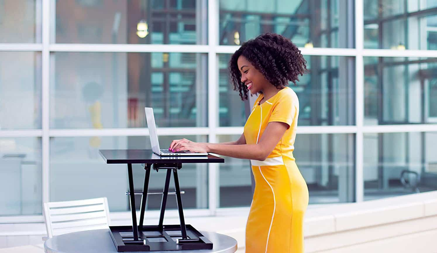 Adjustable Standing Desk as the first related product of Adjustable Computer Desk