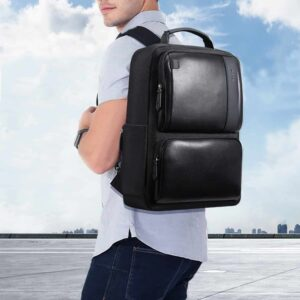 Man looks smart and elegant by wearing the Best Laptop Backpack