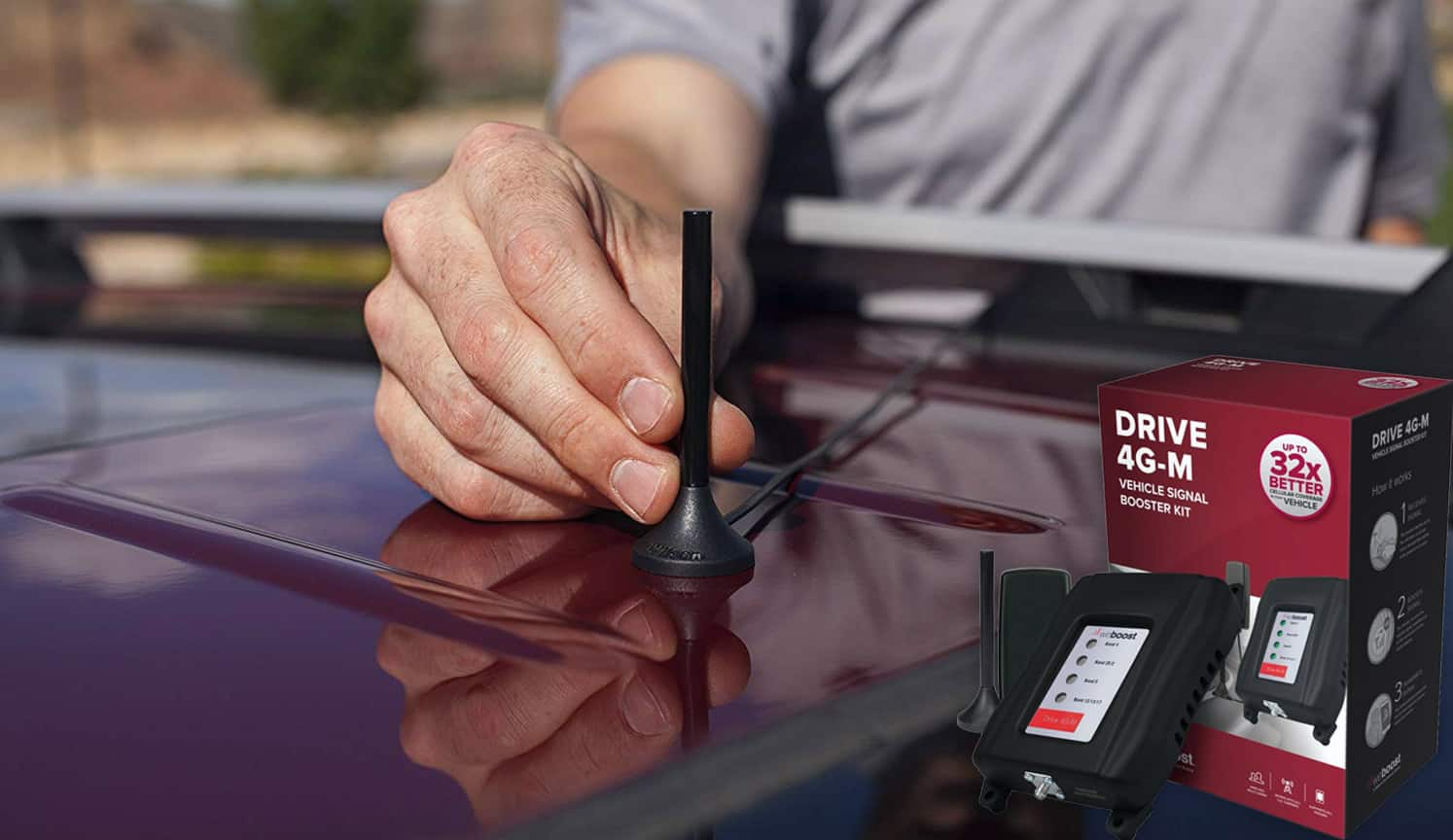 Cell Phone Booster For Car as the third related product of the Best Cell Phone Signal Booster