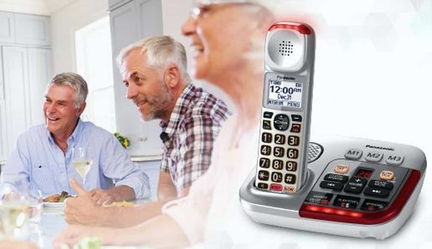 Hearing Impaired Phone as the first related product of the Best Cordless Phone