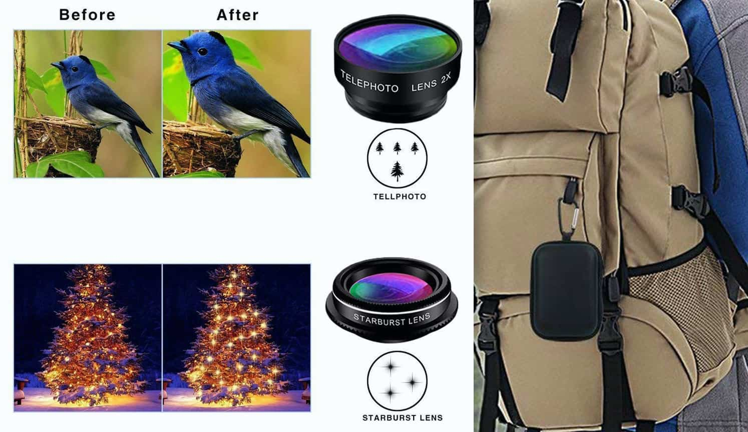 Phone Lens Kit as the second related product of Cell Phone Camera Lens