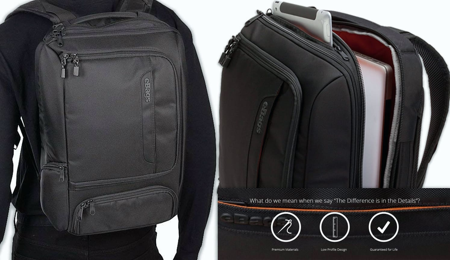 Slim Laptop Backpack as the third related product of the Best Laptop Backpack