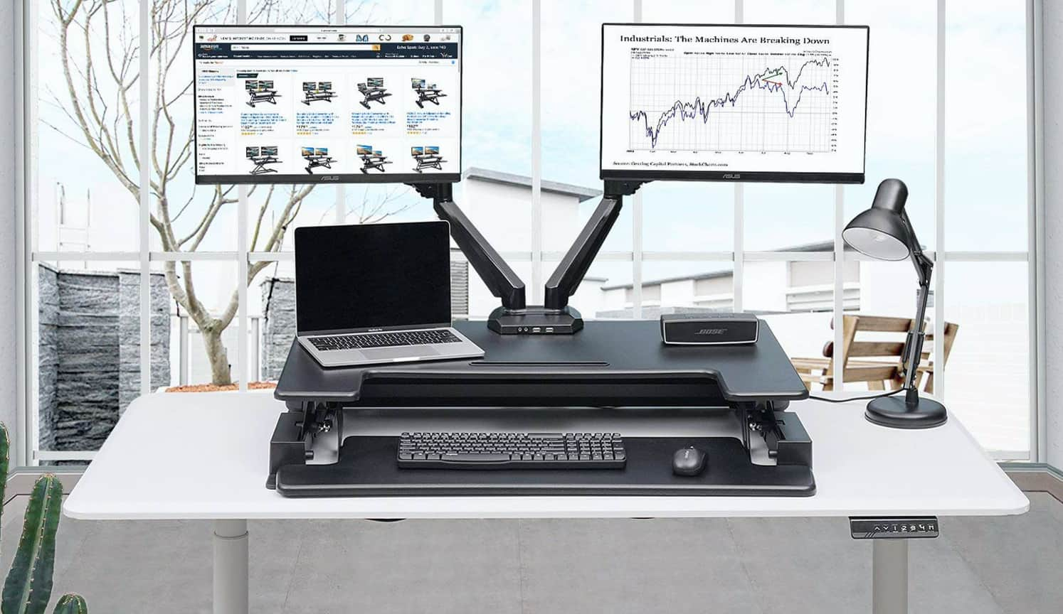 Standing Desk Converter as the third related product of Adjustable Computer Desk
