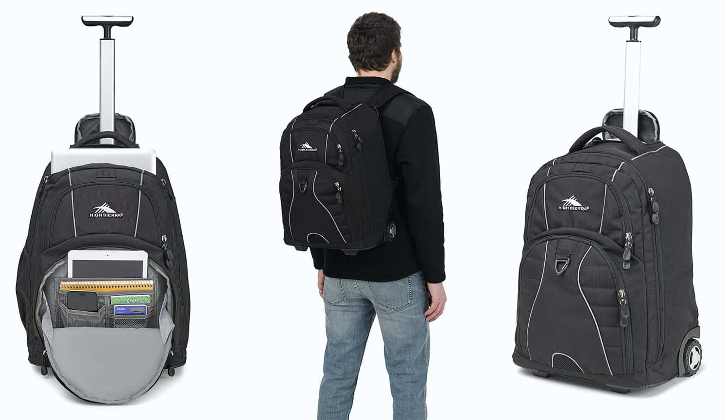 Wheeled Laptop Backpack as the first related product of the Best Laptop Backpack