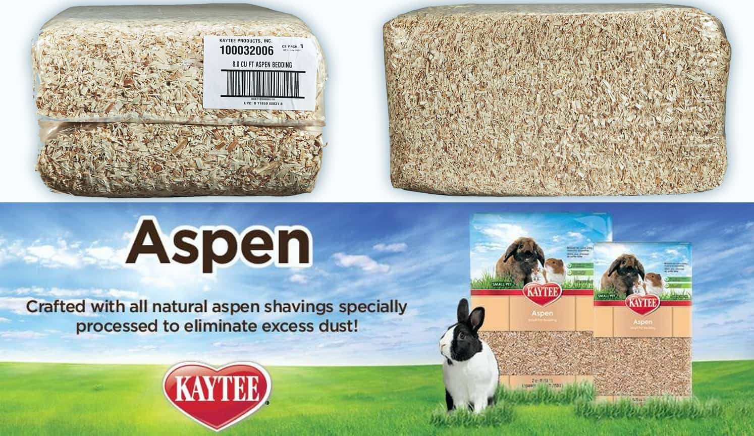 Aspen Pet Bedding as the third related product of the Best Rabbit Bedding
