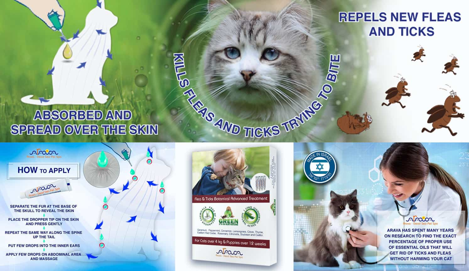 Best Flea And Tick Prevention as the third related product of the Best Flea Medicine For Cats