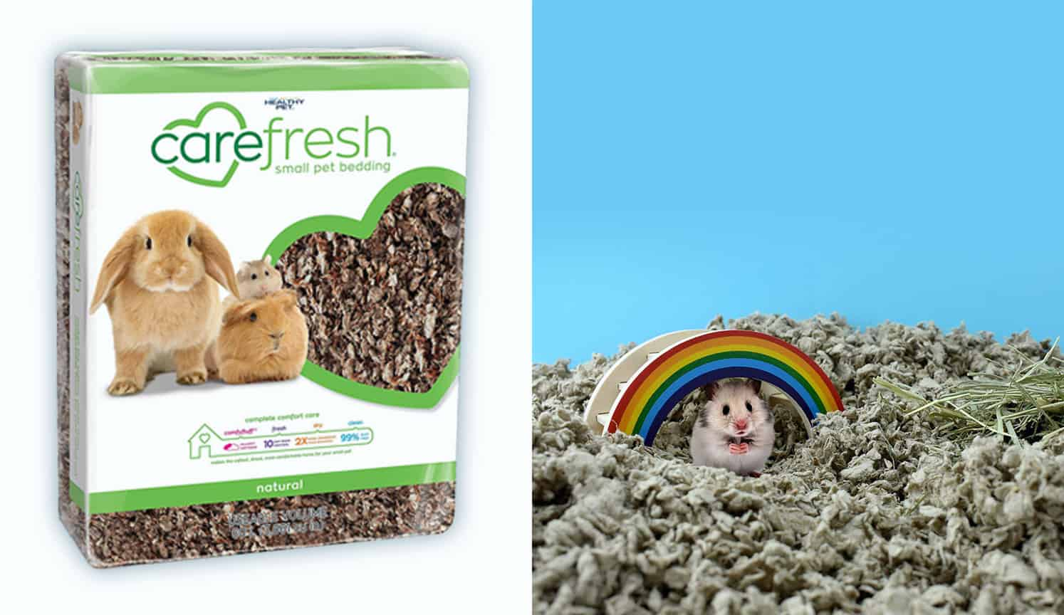 Carefresh Pet Bedding as the second related product of the Best Rabbit Bedding