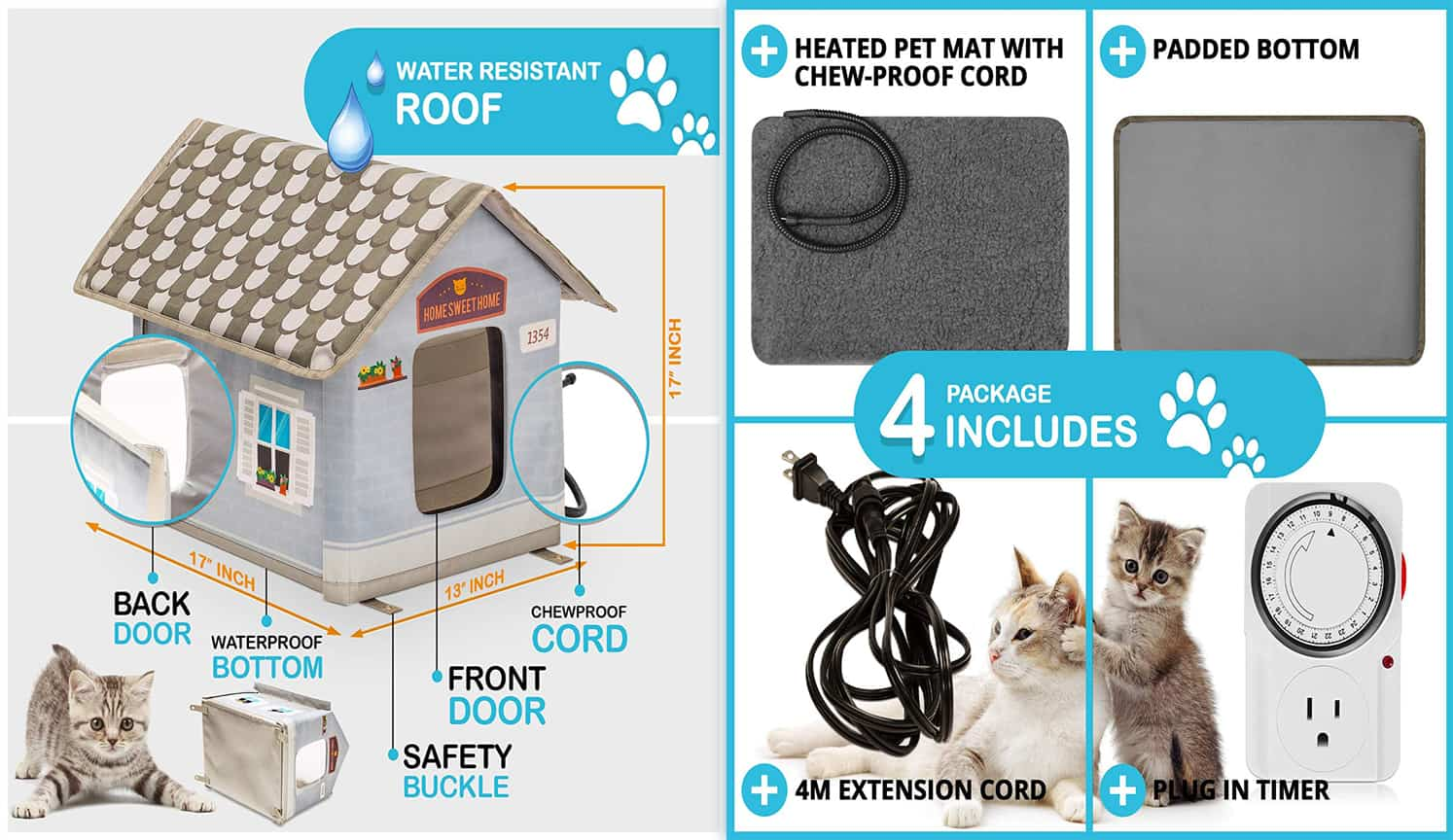 Heated Cat House as the first related product of Outside Cat House