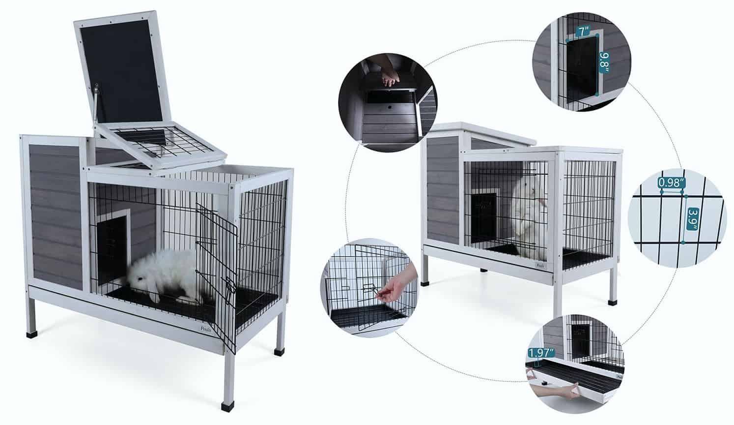 Indoor Bunny Hutch as the first related product of the Best Rabbit Cage