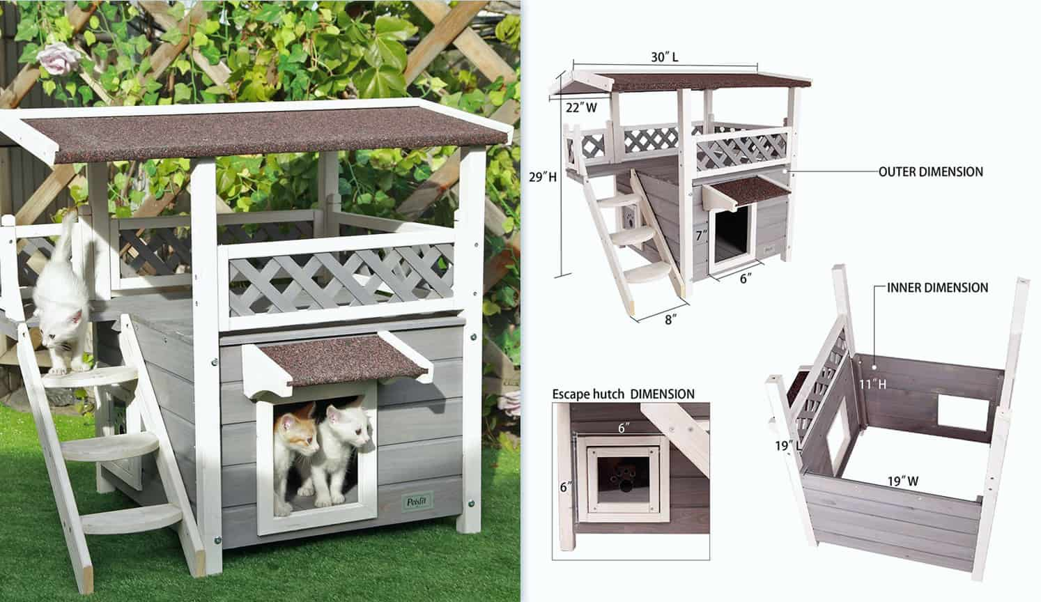 Outdoor Cat Shelter as the third related product of Outside Cat House
