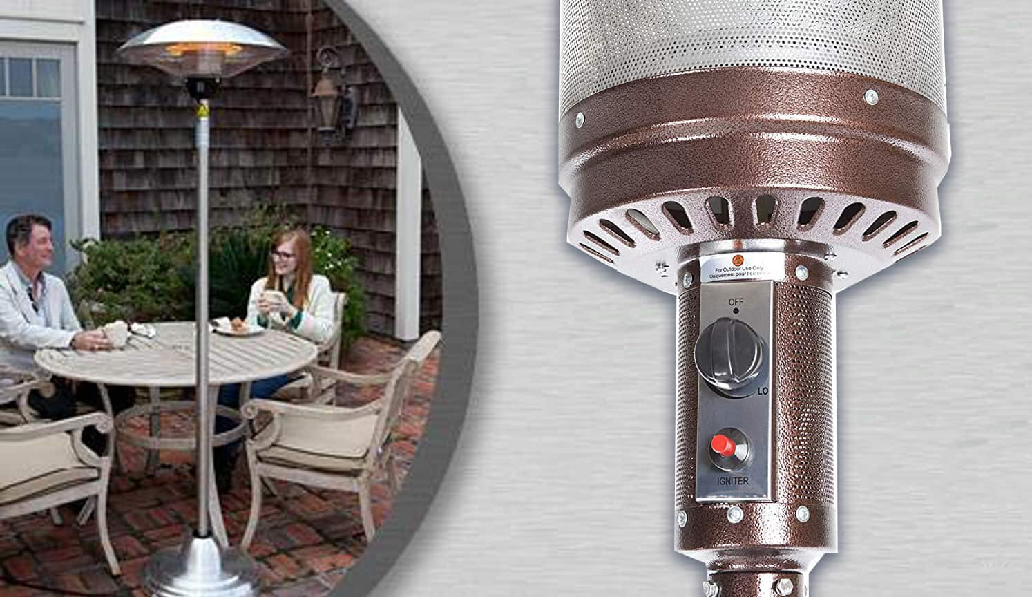 Outdoor Patio Heater as the first related product of Propane Patio Heater