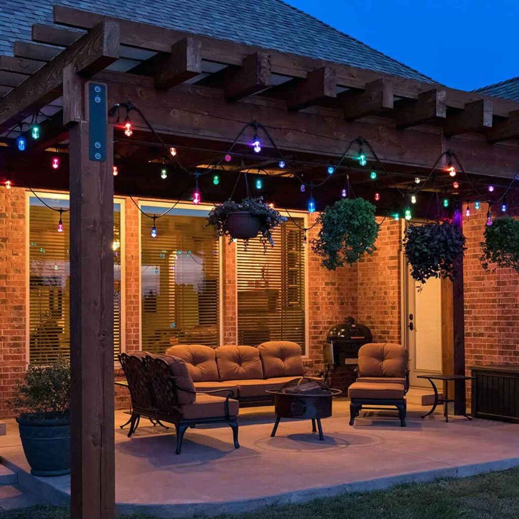 Outdoor Patio Lights Solar