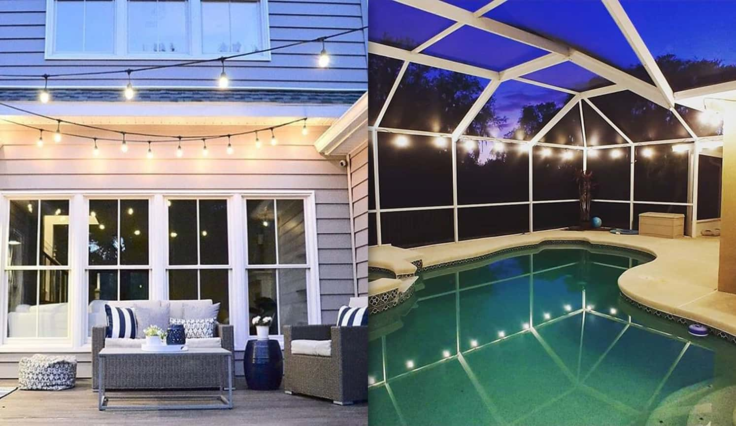 Outdoor Patio String Lights as the second related product of Outdoor Patio Lights