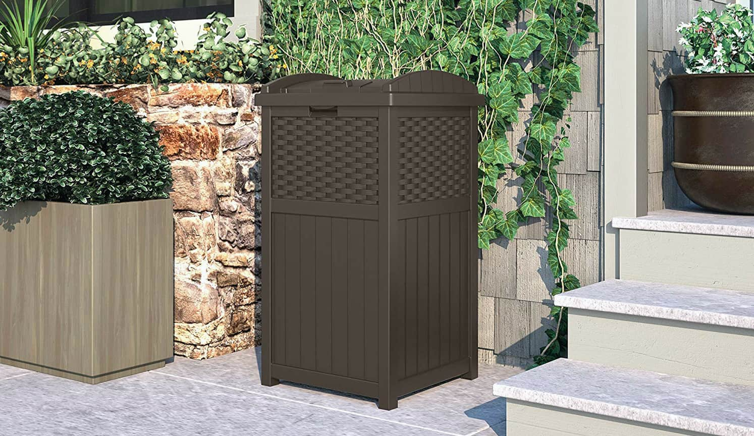 Outdoor Trash Bin as the first related product of Outdoor Trash Can