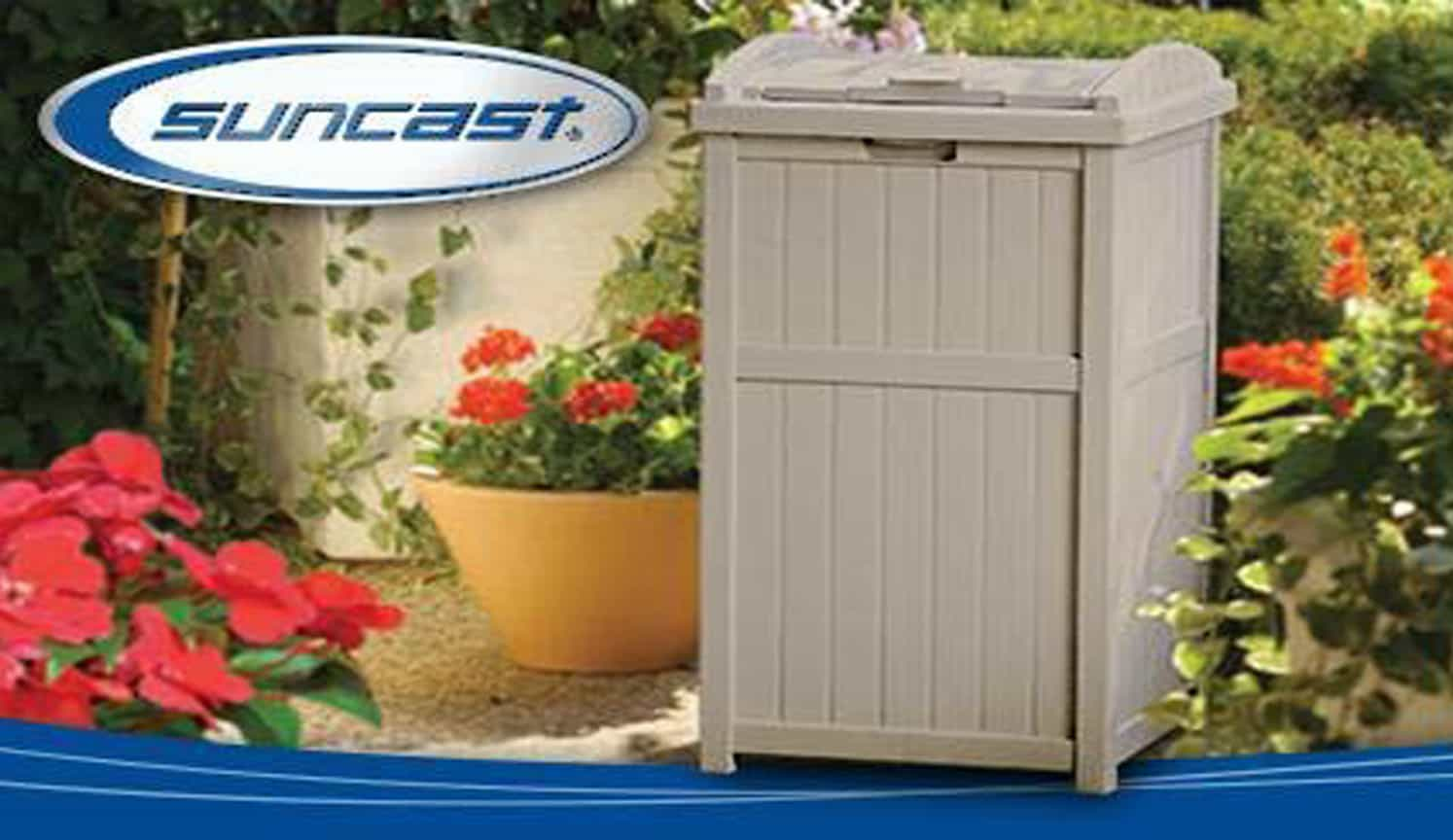 Outdoor Trash Hideaway as the third related product of Outdoor Trash Can