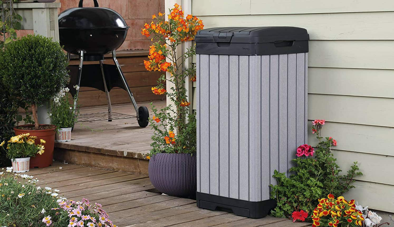 Outdoor Waste Bin as the second related product of Outdoor Trash Can