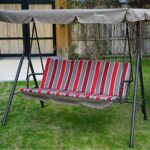 A home backyard space and Patio Swing Chair, a must needed requirement for this kind of outdoor space
