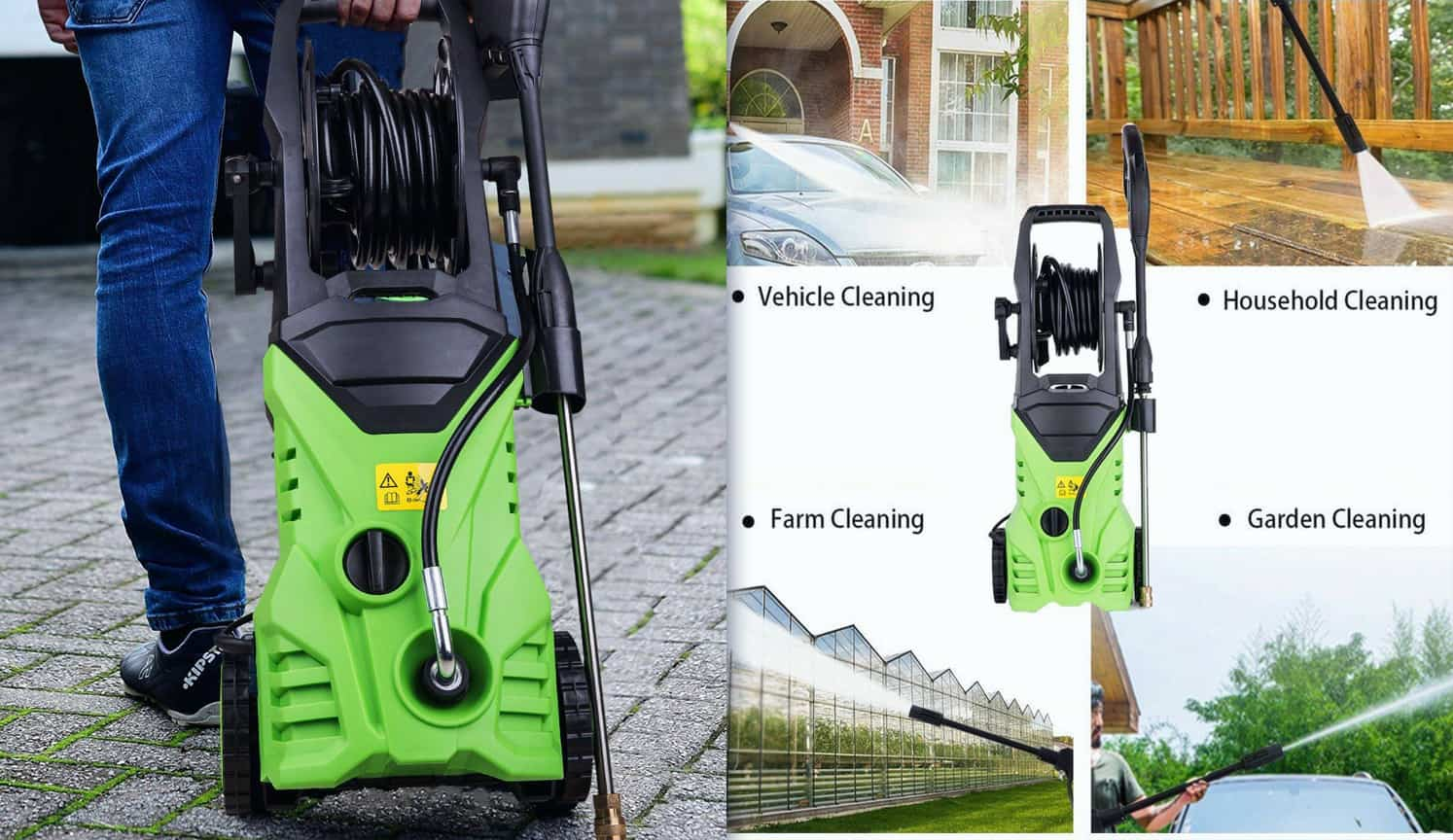 Portable Pressure Washer as the second related product of the Best Electric Pressure Washer