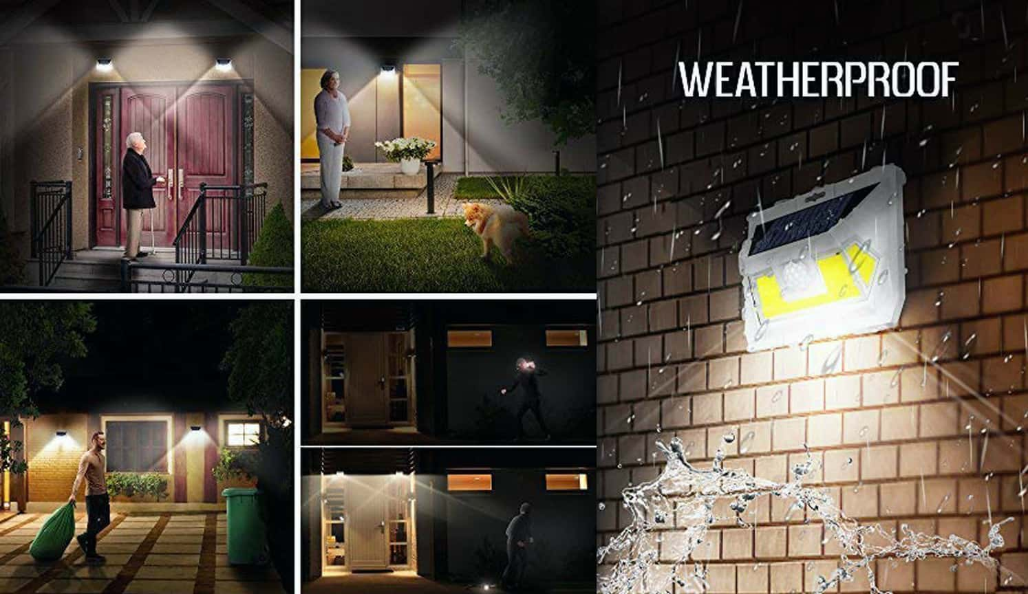 Solar Motion Sensor Light as the third related product of Outdoor Patio Lights